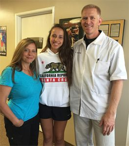 Dr. Matt Janzen with Darci and Josie at Scoliosis Care Centers<sup>TM</sup> by Janzen and Janzen Chiropractic