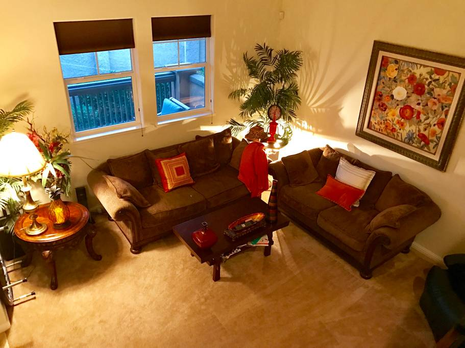 Living room 2 of Airbnb near Scoliosis Care Centers