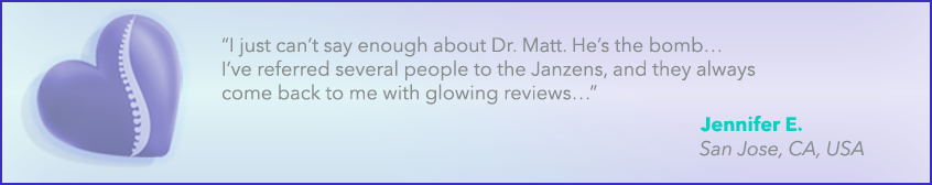 Jennifer's Scoliosis Testimonial
