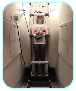 Scoliosis uses to an upright MRI to measure curve progression