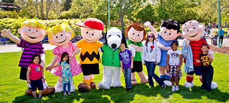 Great America Charlie Brown