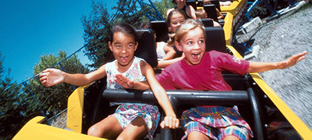 Great America Roller Coaster Kids