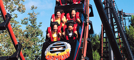 Great America Roller Coaster