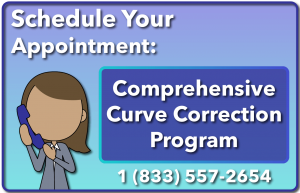 Schedule your comprehensive curve correction program appointment button