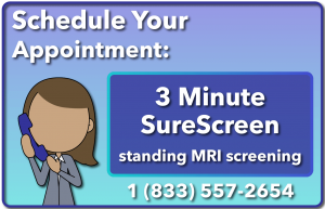 Call our clinic and schedule your SureScreen MRI scoliosis screening