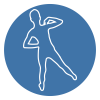Scoliosis exercises icon