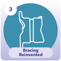 Icon for bracing reinvented with the Silicon Valley Brace