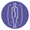 Standing MRI imaging icon