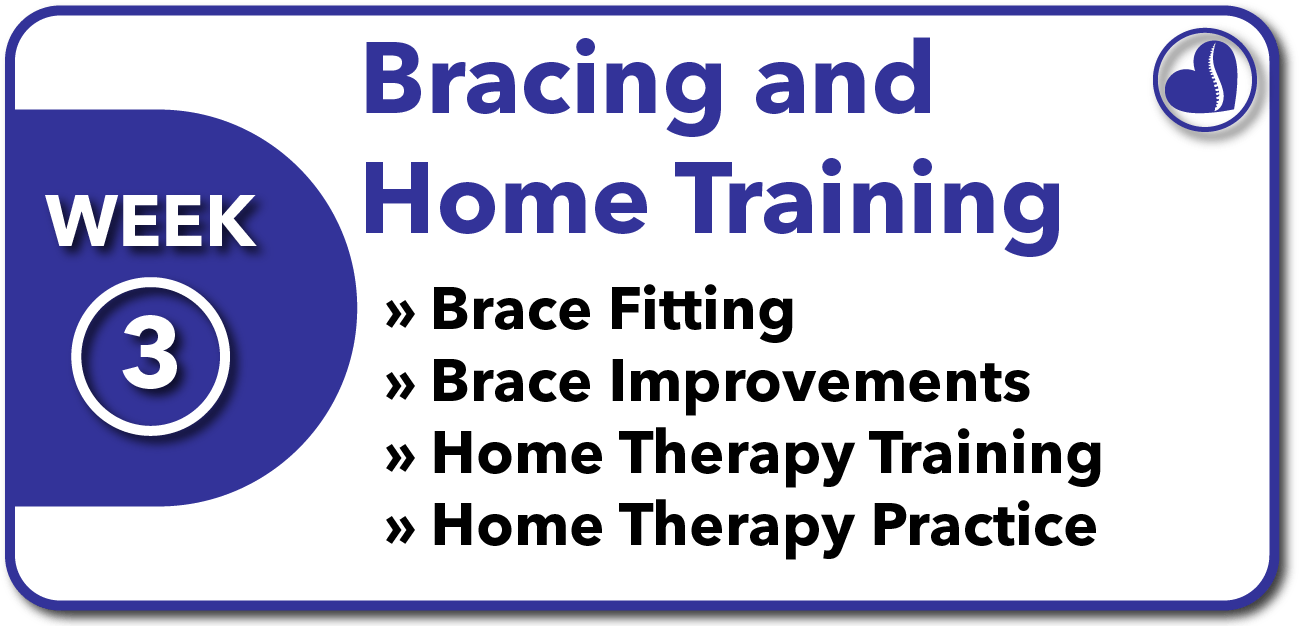 Week 3 Overview of Bracing and Home Training